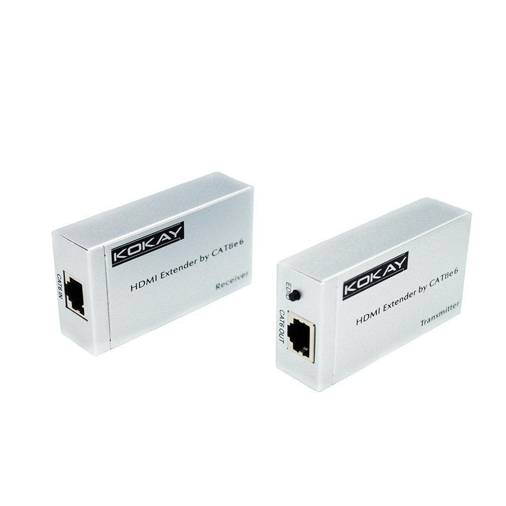 Extensor HDMI Cat6 3D 1080P 20 metros Chip Sce – 075-7190