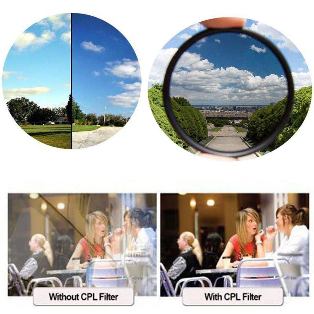Filtro de Lente Hoya Polarizador CPL Slim para Objetivas  - Fotolux