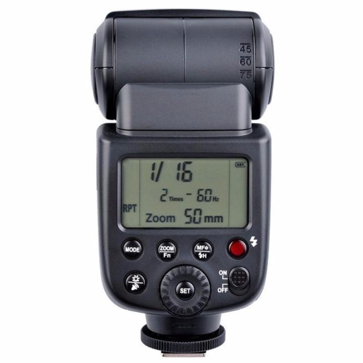 Flash Dedicado Speedlite à Bateria Godox Ving V850 para Câmeras Fotográficas  - Fotolux