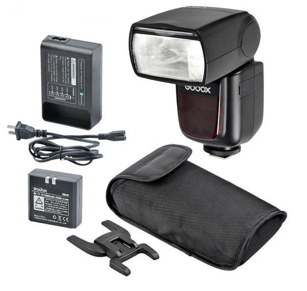 Flash Dedicado Speedlite à Bateria Godox Ving V850 para Câmeras Fotográficas