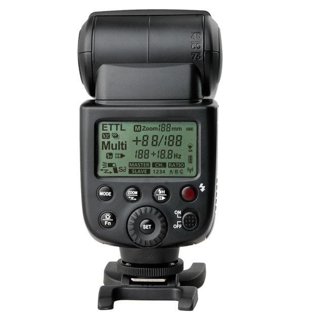 Flash Dedicado Speedlite TTL Godox Ving V860C à Bateria para Câmeras Canon