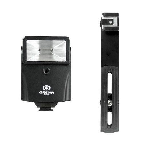 Flash Digital Slave CF18 Greika com Fotocélula para Câmeras e Estúdios Fotográficos  - Fotolux