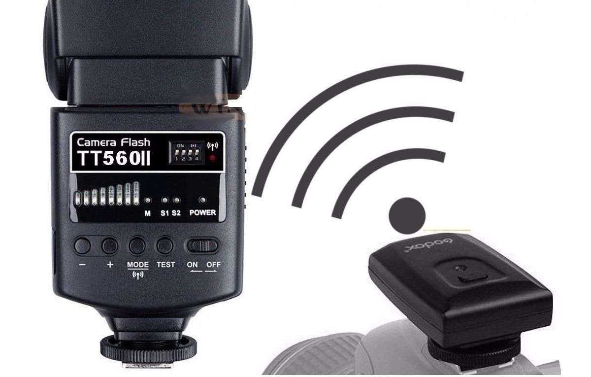 Flash Speedlite Godox TT560 II com Rádio Flash Embutido  - Fotolux
