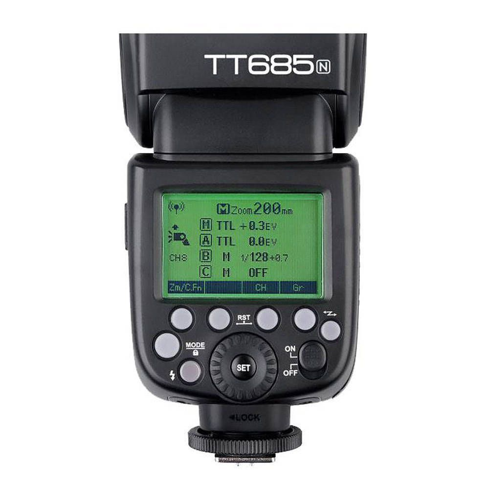 Flash Speedlite Godox TT685N para Câmeras Nikon