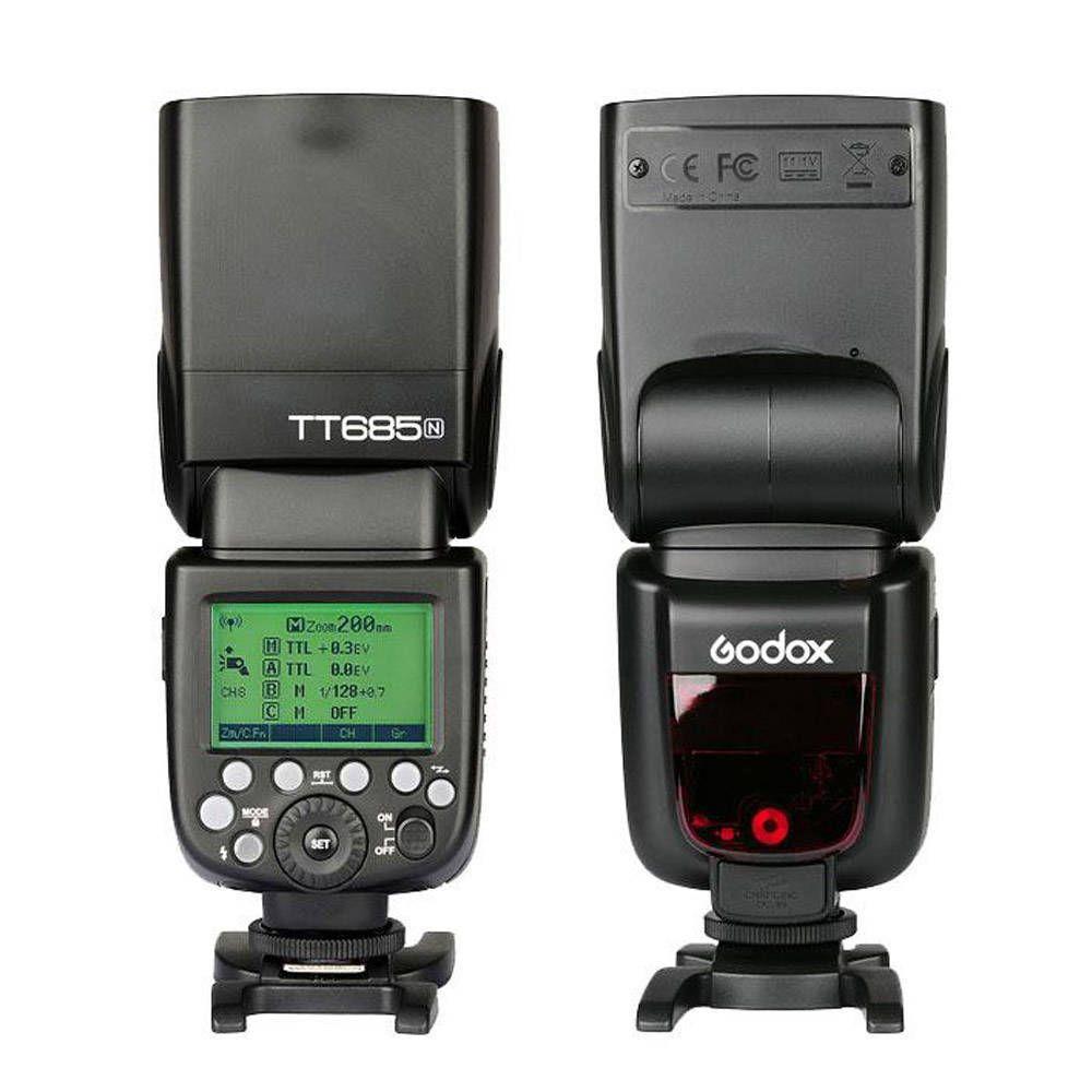 Flash Speedlite Godox TT685N para Câmeras Nikon  - Fotolux