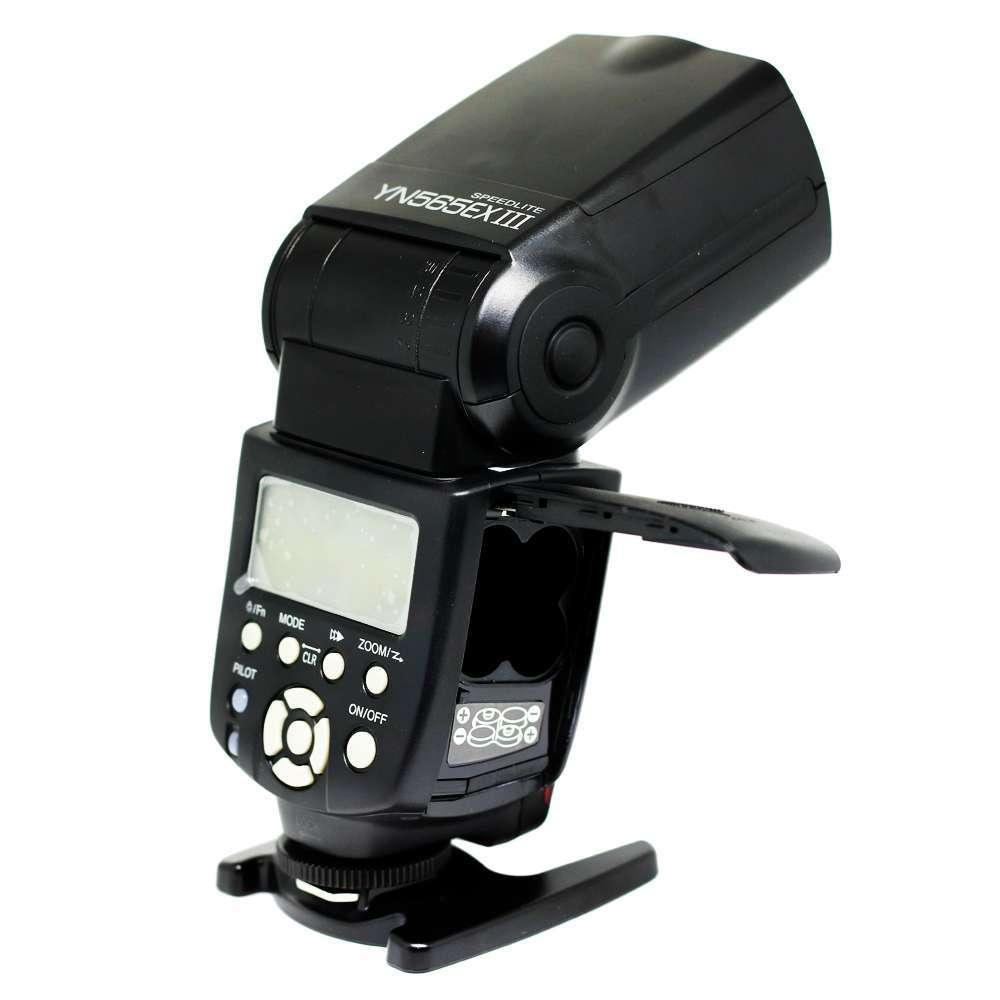 Flash Speedlite Yongnuo YN-565EX III para Câmera Fotográfica  - Fotolux