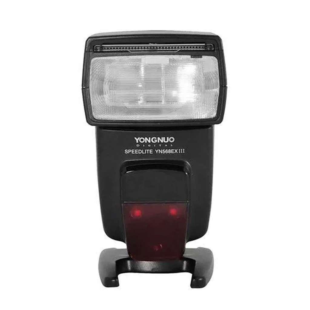 Flash Speedlite Yongnuo YN-568EX III para Câmeras Fotográficas  - Fotolux