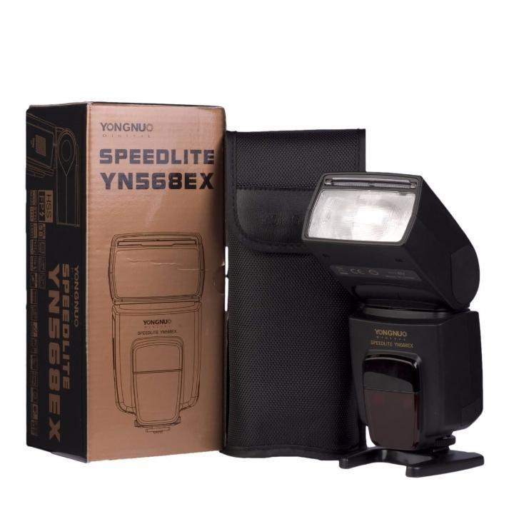 Flash Speedlite Yongnuo YN-568EX para Câmeras Fotográficas
