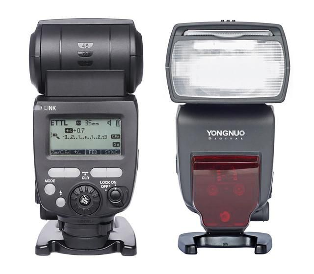 Flash Speedlite Yongnuo YN-685 para Câmera Fotográfica  - Fotolux
