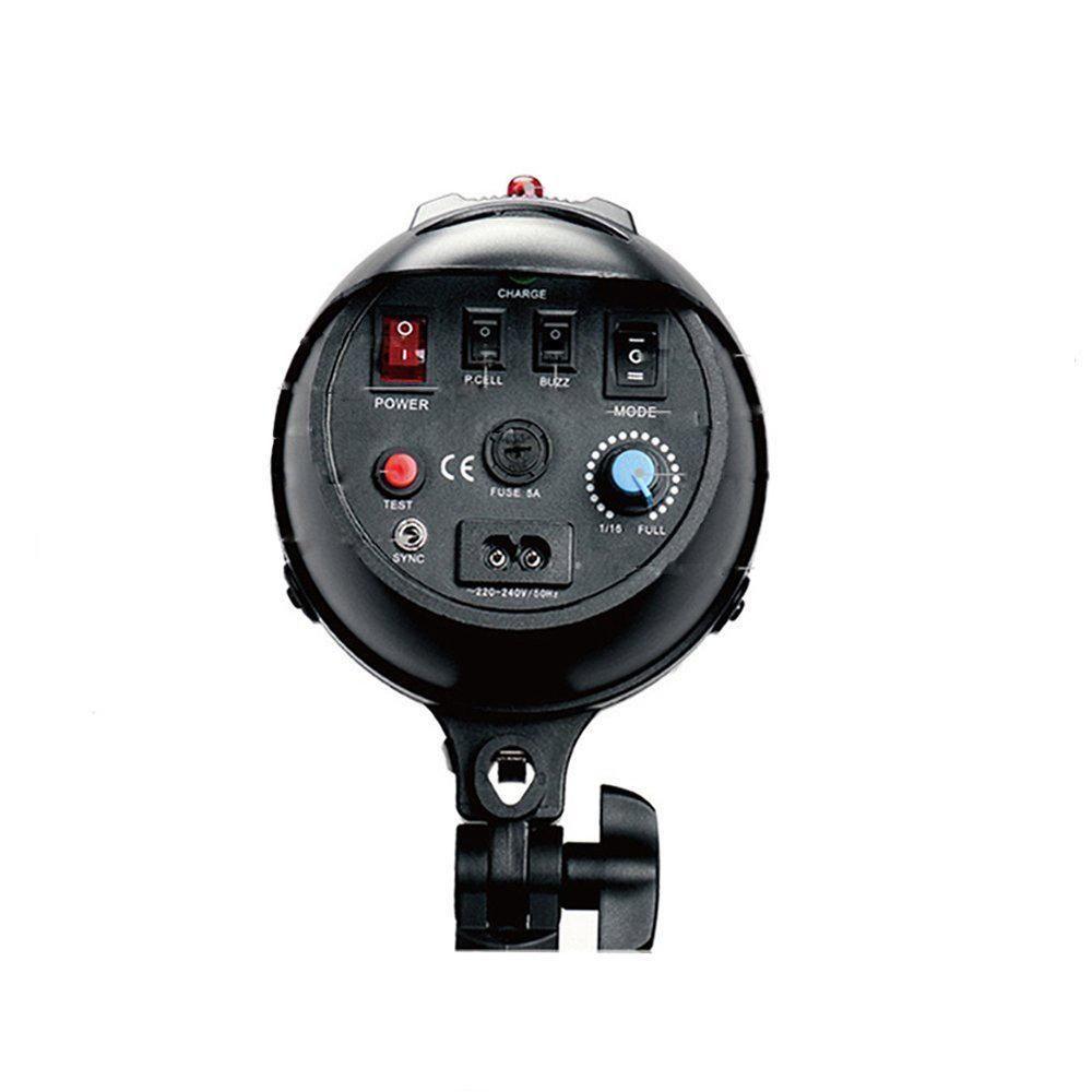 Flash Tocha 250W para Estúdio Fotográfico Greika EG-250B