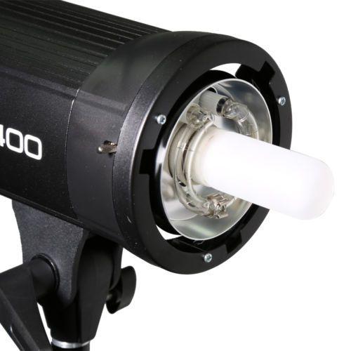 Flash Tocha 400W Godox SK400 para Estúdio Fotográfico