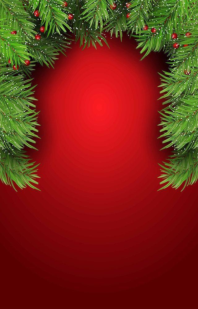 Fundo Fotográfico Decorado em Tecido Oxford - Tema Natal 13
