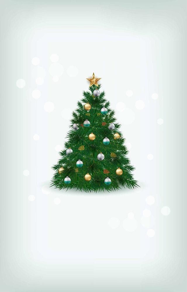 Fundo Fotográfico Decorado em Tecido Oxford - Tema Natal 14