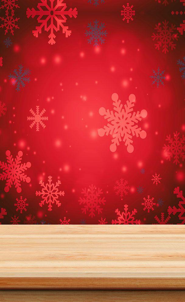 Fundo Infinito Fotográfico Temático em Tecido Lavável Dry-fit - Tema Natal 17  - Fotolux