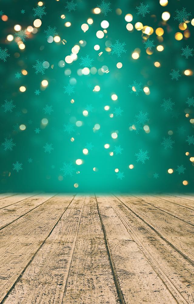 Fundo Fotográfico Decorado em Tecido Oxford - Tema Natal 4