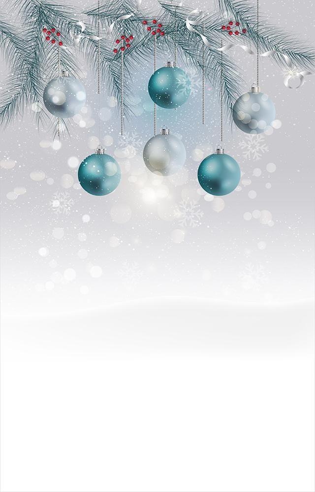 Fundo Fotográfico Decorado em Tecido Oxford - Tema Natal 5
