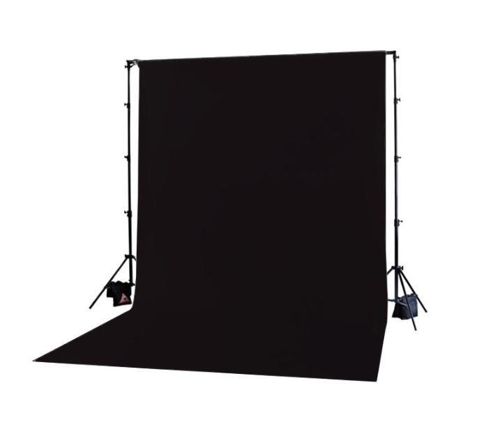 Fundo Infinito de TNT para Estúdio Fotográfico 3m x 6m - Preto  - Fotolux