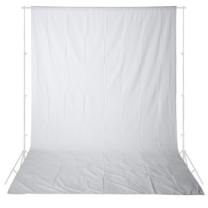 Fundo Infinito em Tecido Muslin Greika 3m x 5m - Branco