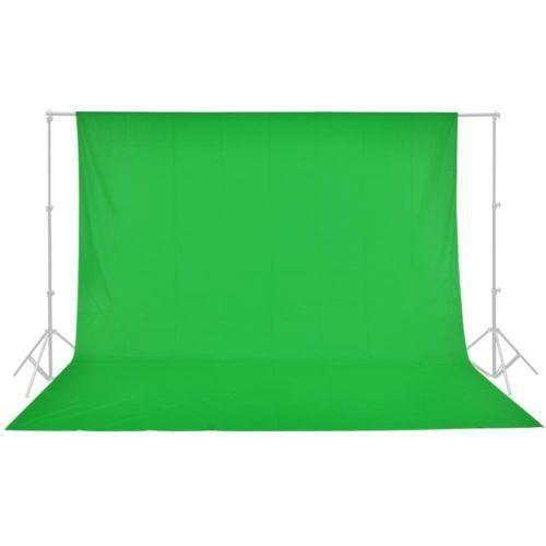 Fundo Infinito em Tecido Muslin Greika 3m x 5m - Verde Croma Key  - Fotolux