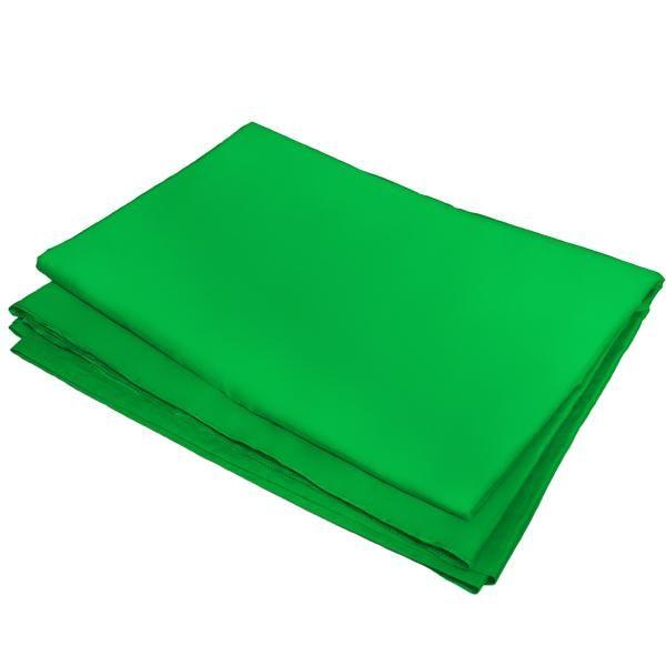 Fundo Infinito em Tecido Muslin Greika 3m x 5m - Verde Croma Key