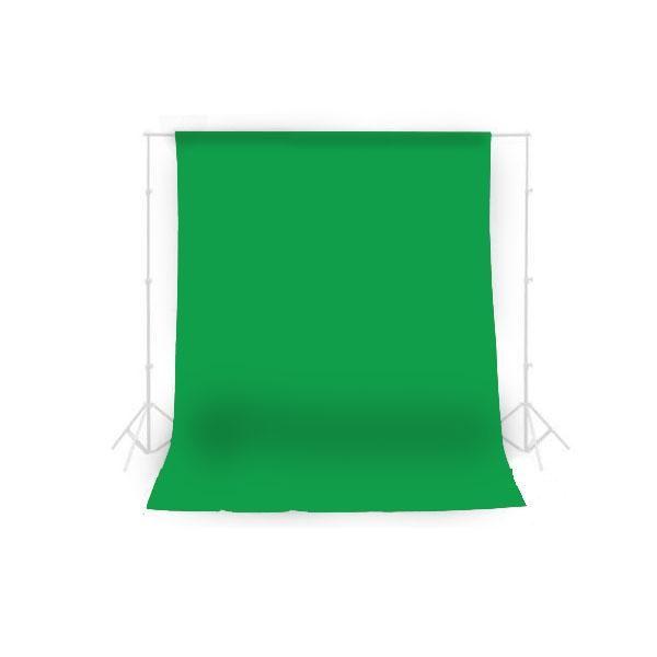 Fundo Infinito em Tecido Oxford Verde Chroma Key para Estúdio Fotográfico