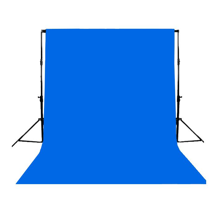 Fundo Infinito Profissional em Papel de Alta Densidade Greika - Foto Blue 136  - Fotolux