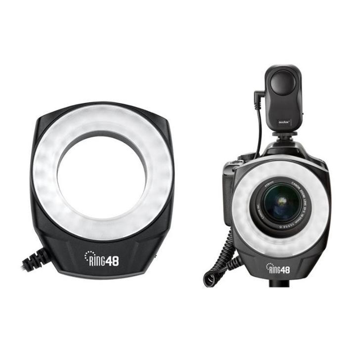 Iluminador Circular Macro Ring 48 LED Godox  - Fotolux