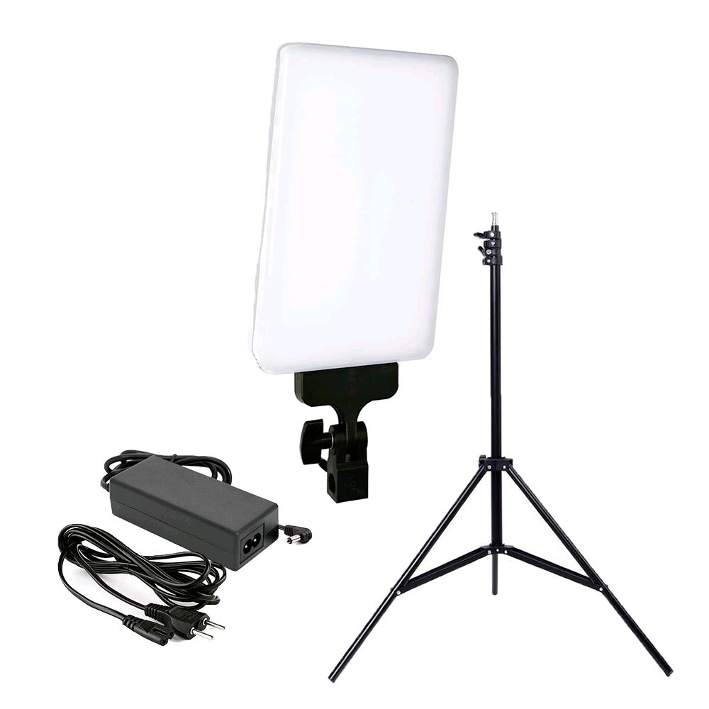 Iluminador de LED 530C 30W com Tripé de 2m para Fotografia e Filmagem  - Fotolux