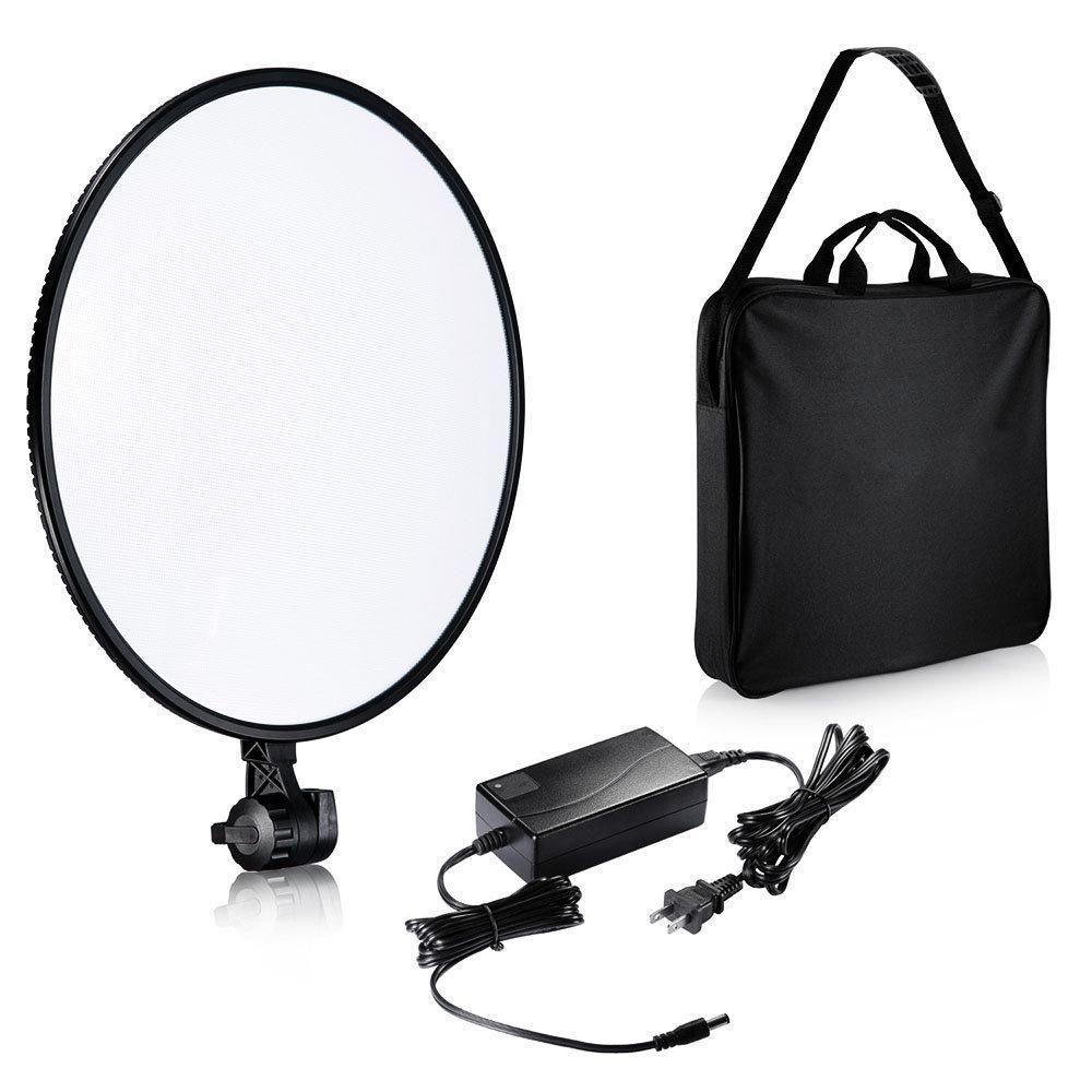 Iluminador de LED Circular Mettle Rpad-18D 45cm para Foto e Vídeo