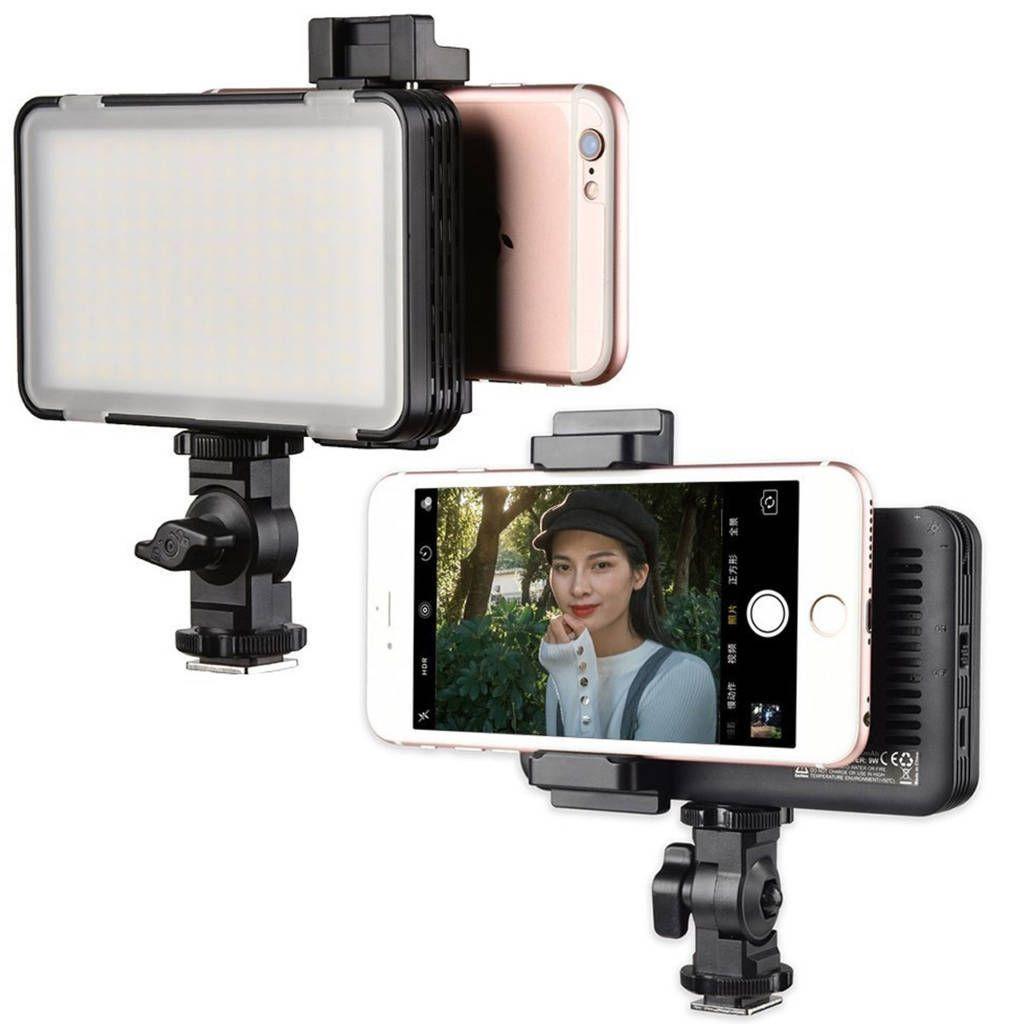Iluminador de LED Godox Mini Led M150 para Câmeras e Smartphones  - Fotolux