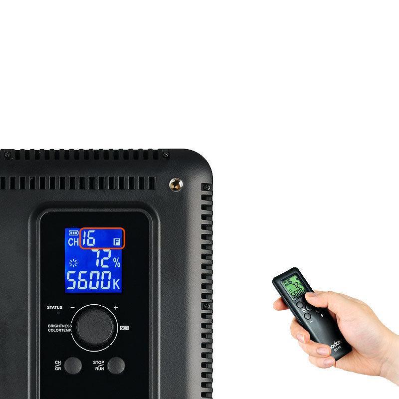Iluminador de LED Godox P260C com 256 Leds para Foto e Vídeo