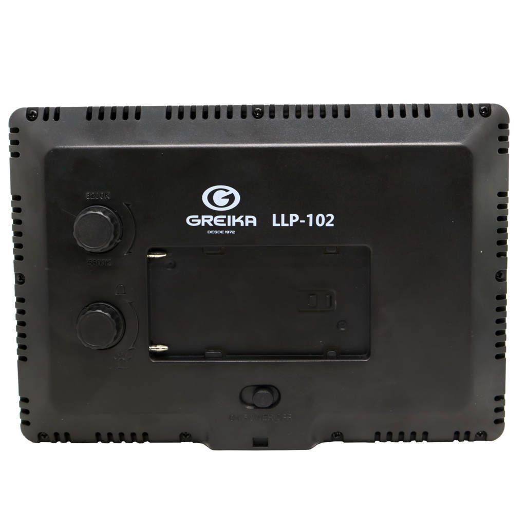 Iluminador de LED Greika Light Pad LLP-104 para Câmeras e Filmadoras  - Fotolux