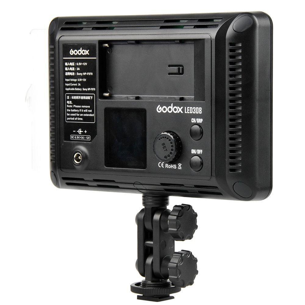 Iluminador de Led Profissional Godox 308c com Controle Remoto