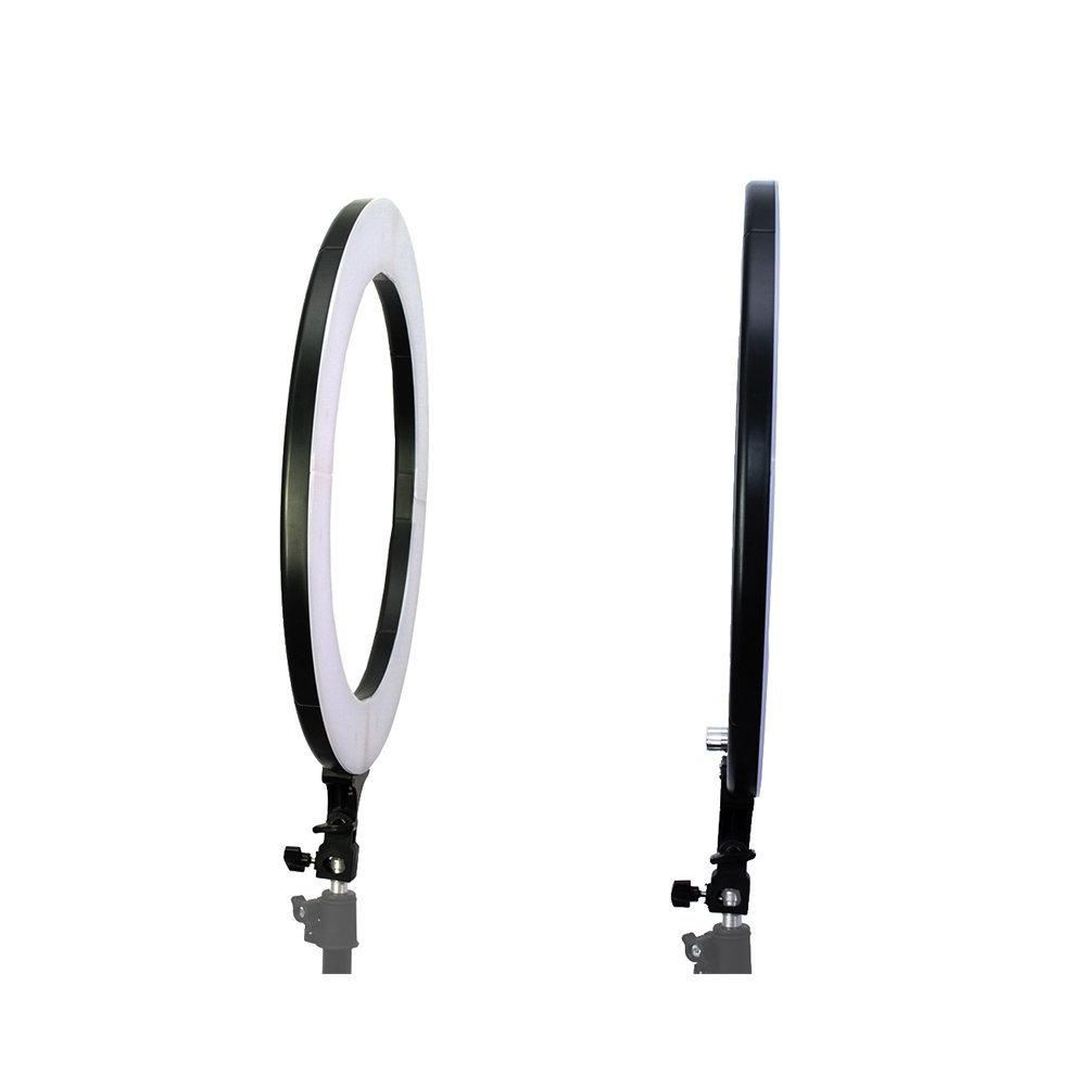 Iluminador de LED Ring Light 18 80W com 48cm Diâmetro para Foto e Vídeo