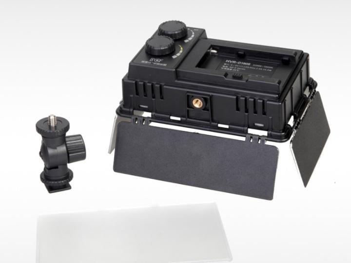 Iluminador de LED Verata 1080 Greika 160 Leds para Foto e Vídeo