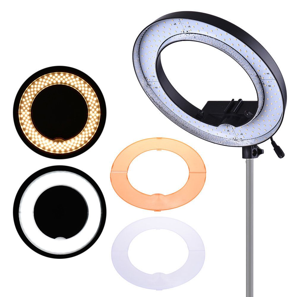 Iluminador Ring Light de LED RL12 com 35cm Diâmetro para Foto e Vídeo
