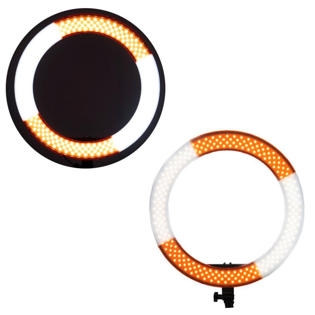 Iluminador Ring Light de LED RL18 com 48cm Diâmetro para Foto e Vídeo  - Fotolux