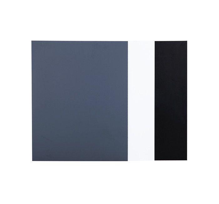 Kit 3 Cartões para Balanço de Branco cores Cinza, Branco e Preto JJC GC-1II  - Fotolux