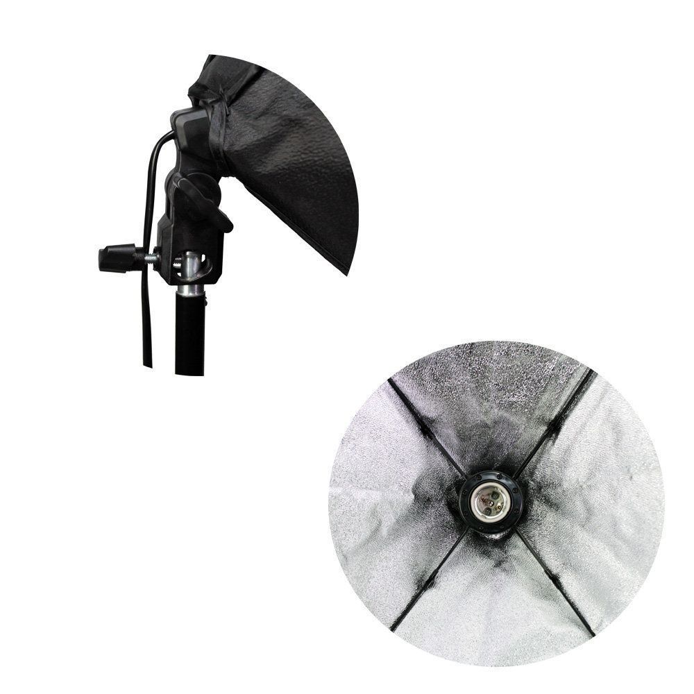 Kit de Iluminação Duplo Softbox Sou Foto 50x70cm com Soquete e Tripé para Estúdio Fotográfico  - Fotolux