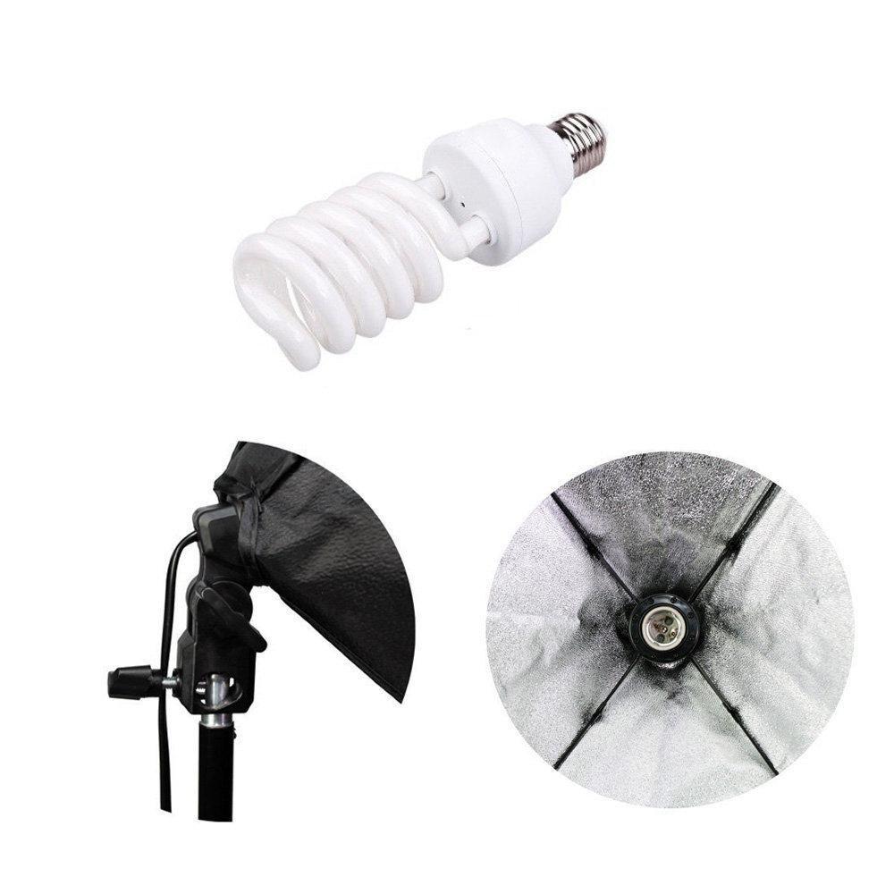 Kit de Iluminação Duplo Sou Foto 45W com Softbox 50x70cm e Tripé de 2m