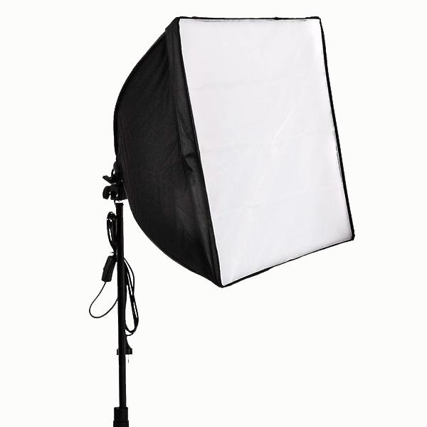 Kit de Iluminação Greika Ágata 1 50x50cm para Estúdio Fotográfico