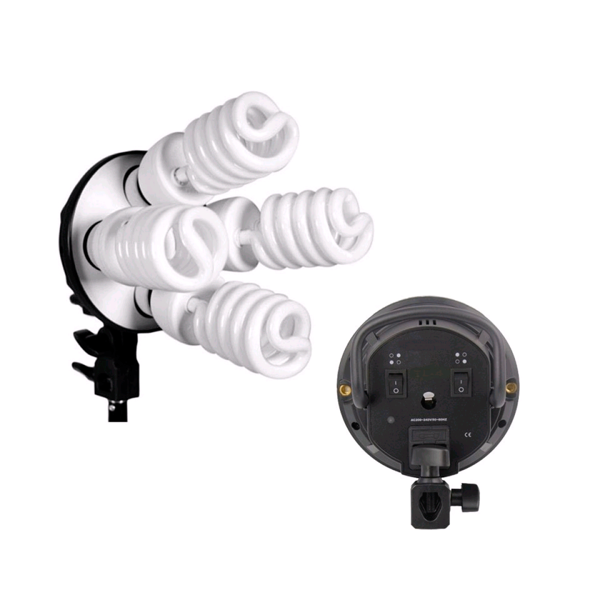 Kit de Iluminação Greika PK-SB03 para Estúdio Fotográfico  - Fotolux