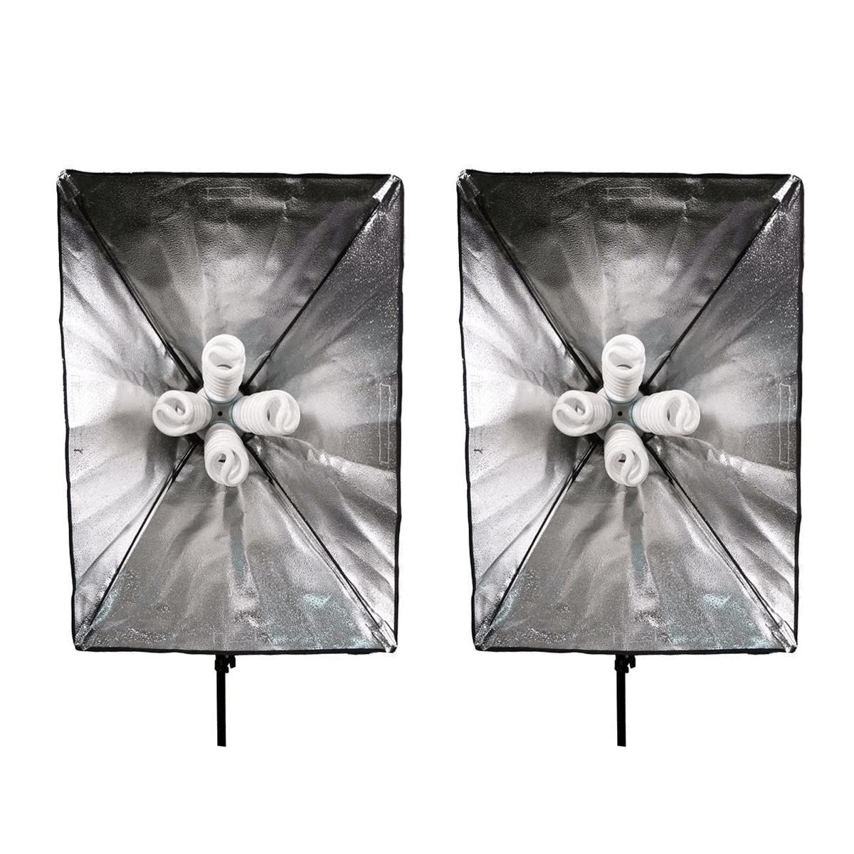 Kit de Iluminação Luz Contínua Atena PK-SB01 para Estúdio Fotográfico  - Fotolux
