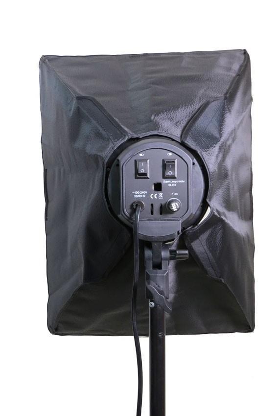Kit de Iluminação Luz Contínua Atena PK-SB01 para Estúdio Fotográfico
