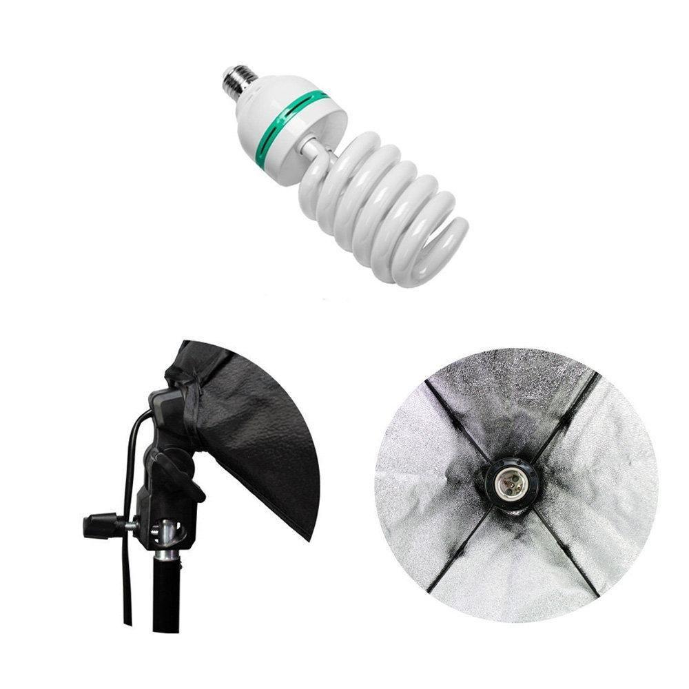 Kit de Iluminação para Estúdio Fotográfico 85W com Softbox 50x70cm e Tripé 2m Sou Foto