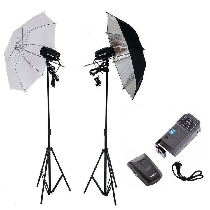 Kit de Iluminação para Estúdios Fotográficos Greika Argos  - Fotolux