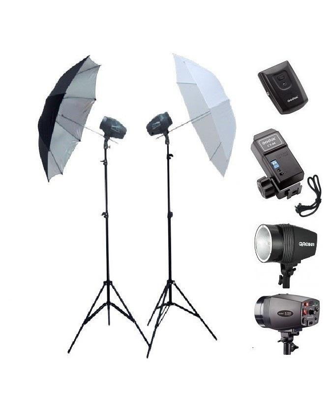 Kit de Iluminação para Estúdios Fotográficos Greika Argos