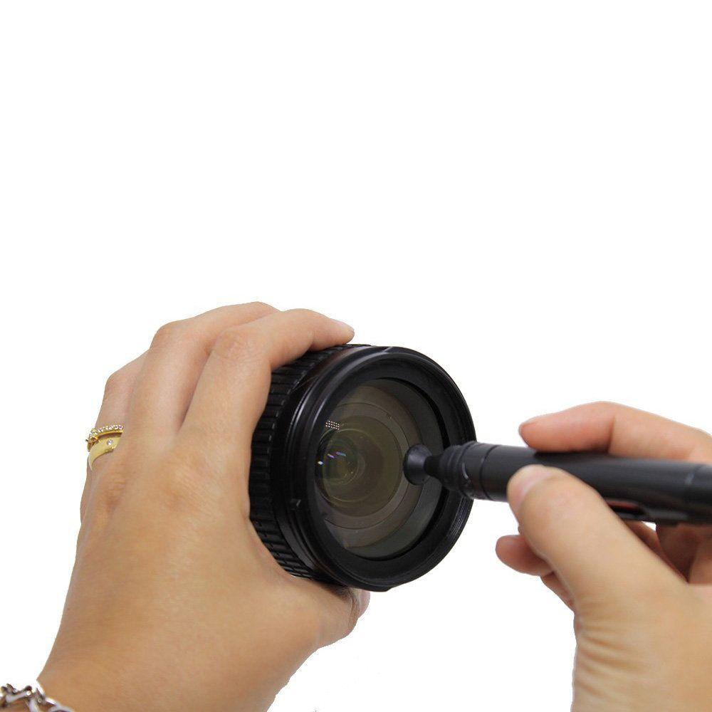 Kit de Limpeza 3 em 1 Greika CK-3 para Lentes Fotográficas e Óticas em Geral