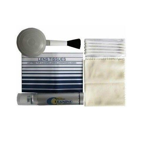 Kit de Limpeza 5 em 1 Greika WOA2009 para Lentes Fotográficas e Óticas em Geral  - Fotolux