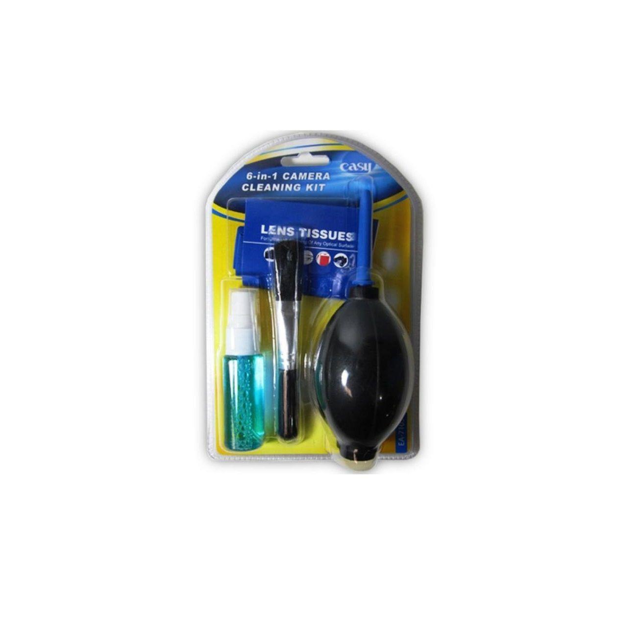 Kit de Limpeza 6 em 1 Easy EA7105 para Equipamentos Óticos e Fotográficos  - Fotolux